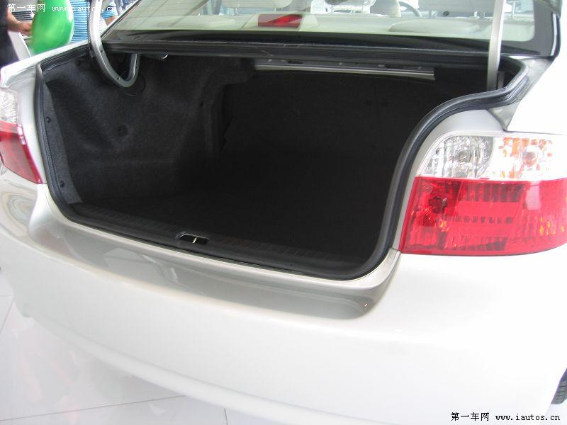 后备箱-威驰,威驰1.3GL MT特别版 新车报价 车型对比高清图片