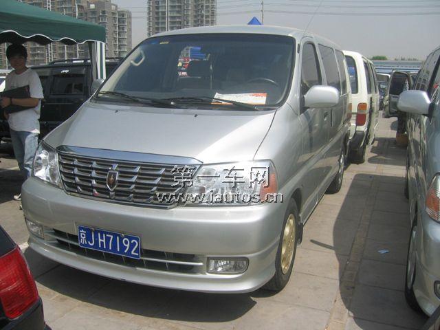 北京二手车 金杯阁瑞斯商务舱2.7 mt标准型 短轴 7座高清图片