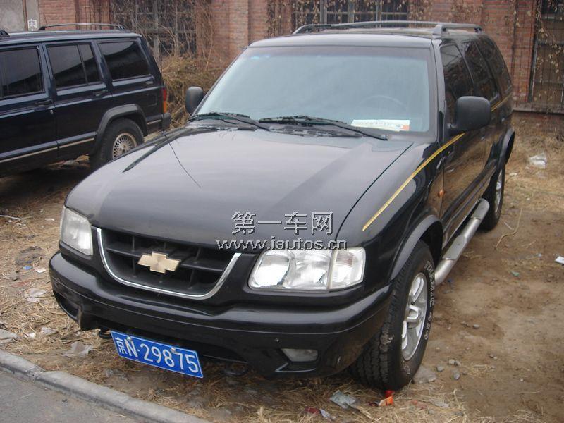 二手雪佛兰开拓者 北京雪佛兰开拓者二手车 二手金杯通用高清图片