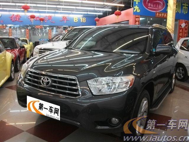 广东二手车,二手丰田 汉兰达,广东汉兰达二手车,汉兰达3.5 v高清图片