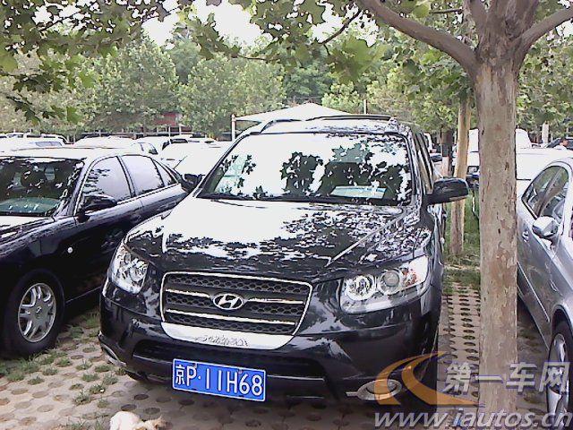 北京二手现代圣达菲 07年北京二手现代圣达菲高清图片