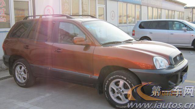 北京二手现代圣达菲 03年北京二手现代圣达菲 车 2.7l报价 高清图片