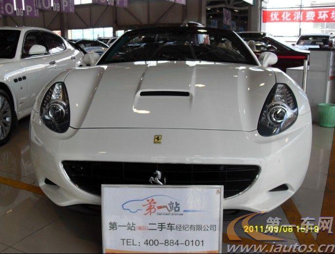 北京二手法拉利California 00年北京二手法拉利California 车 4.3L报价