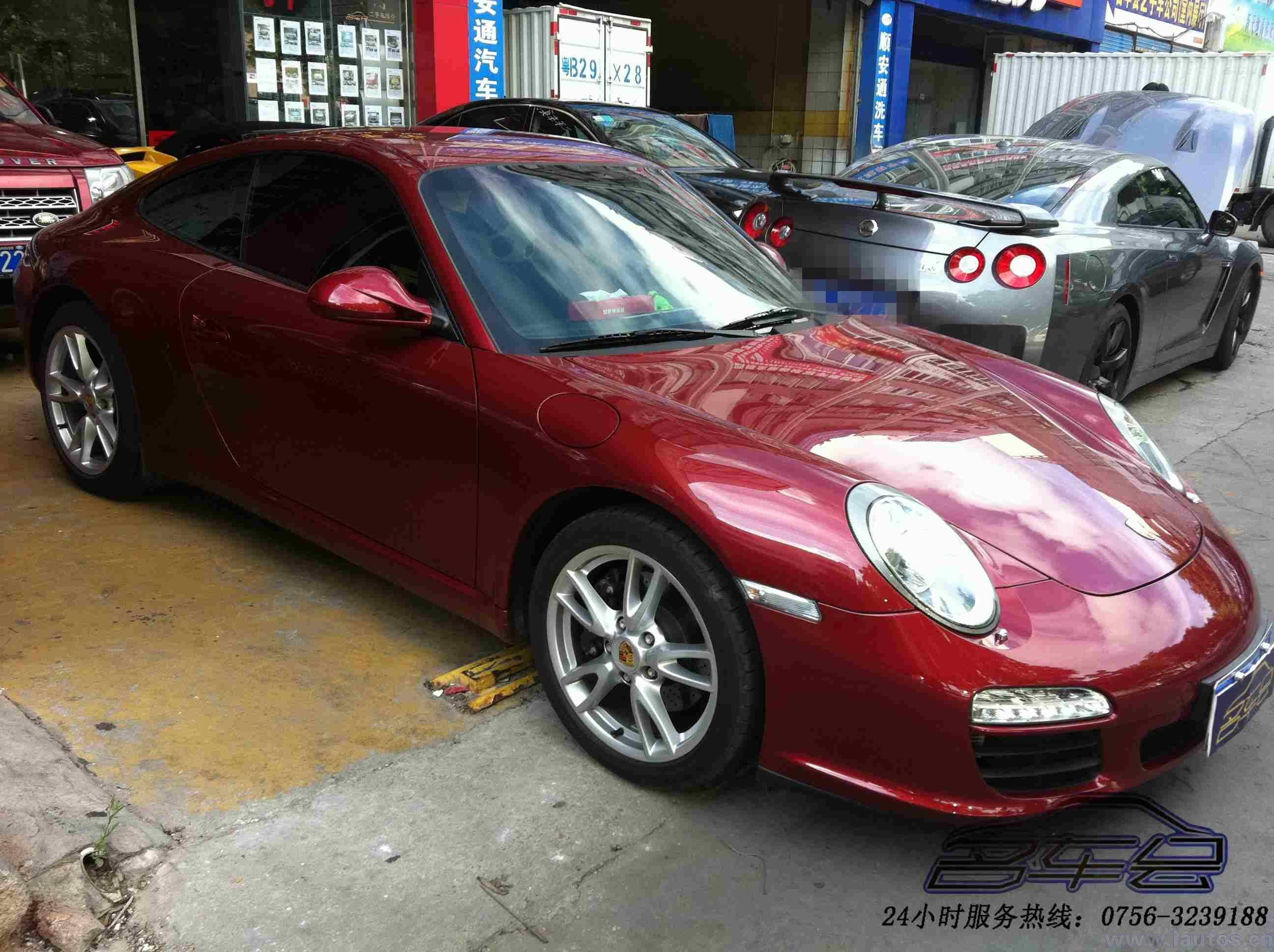 珠海全国 2011年 保时捷911 carrera 3.6高清图片