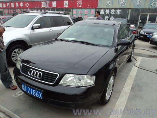 郑州二手奥迪A6 02年郑州二手奥迪A6车 2.4L报价高清图片