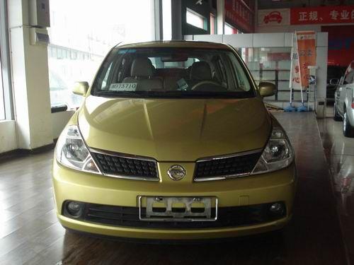 宁波二手尼桑骐达1.6自动挡高配 报价及图片,国产轿车尼桑高清图片