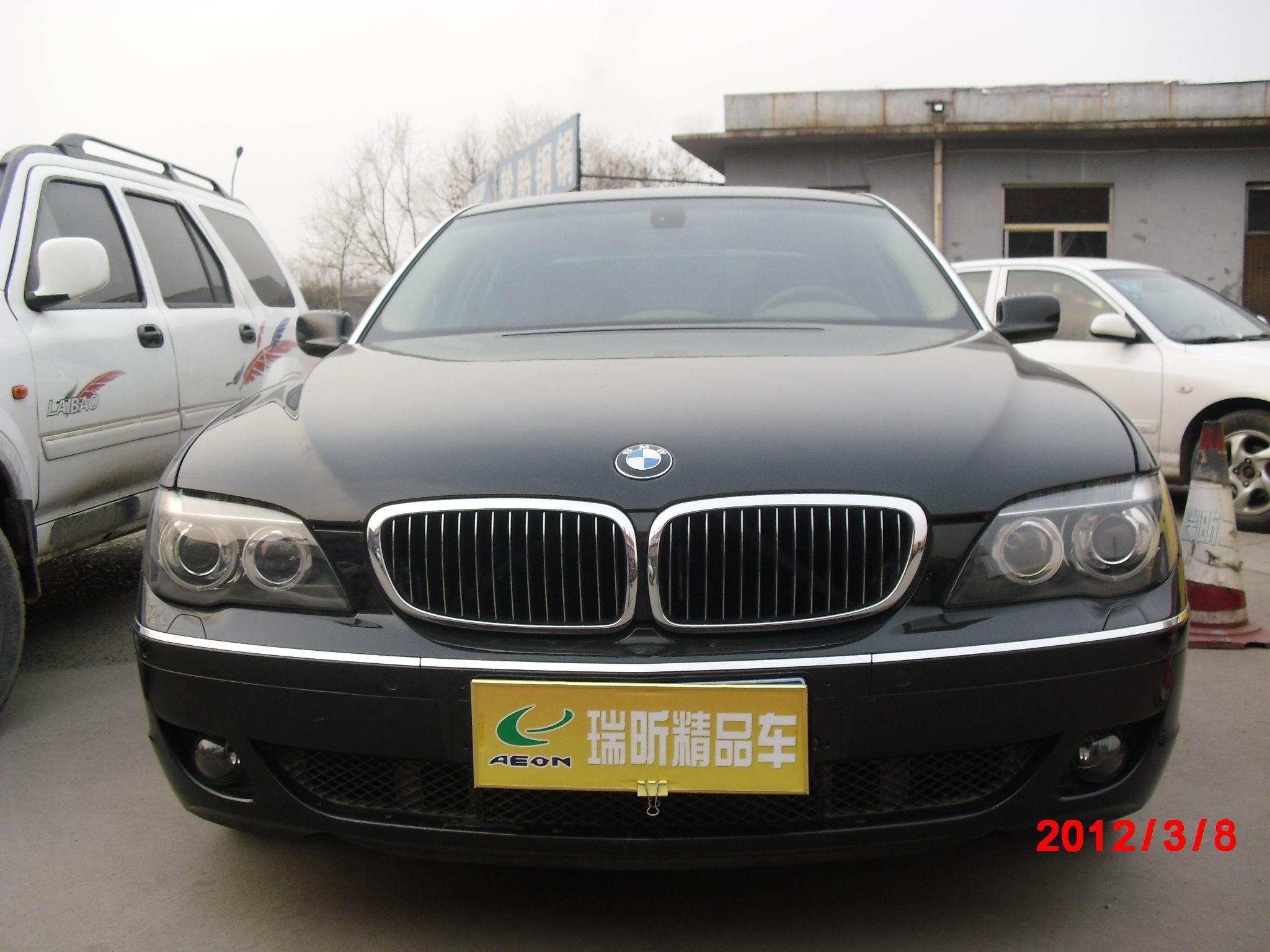 济南轿车二手车 宝马7系 730li高清图片