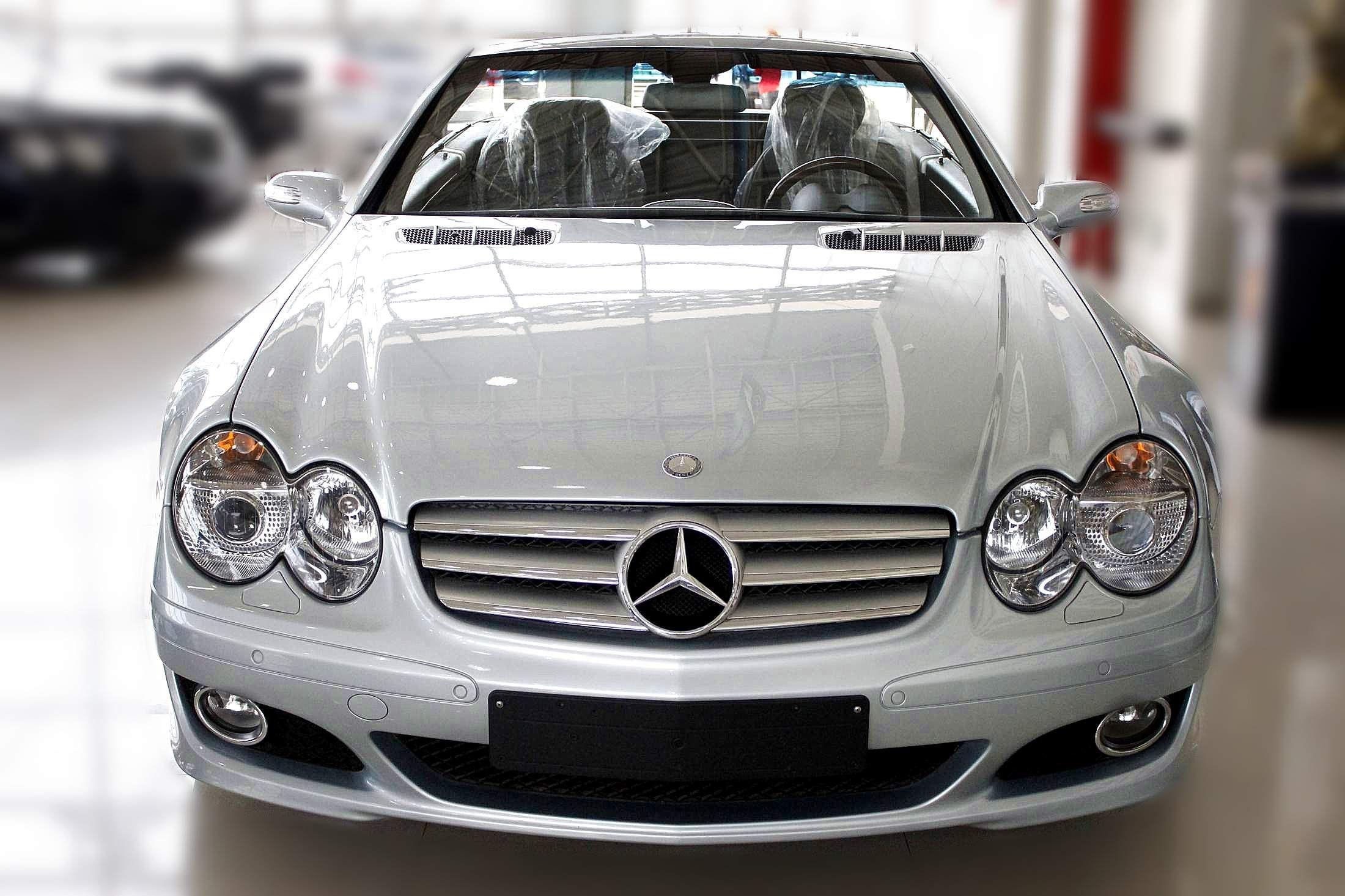 天津东丽区 2008年 奔驰sl350 3.5 v6 高清图片