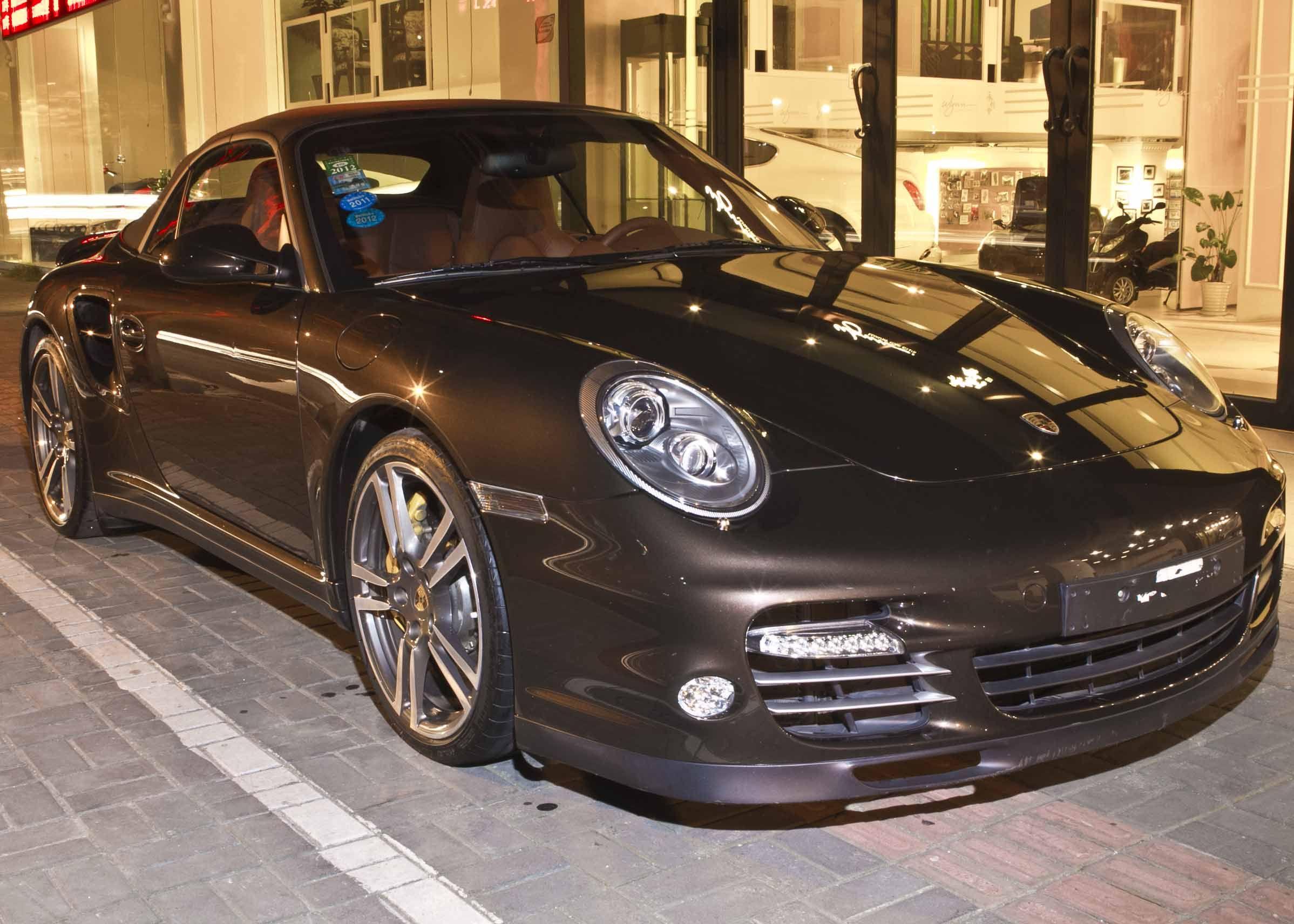 保时捷911 turbo s 3高清图片