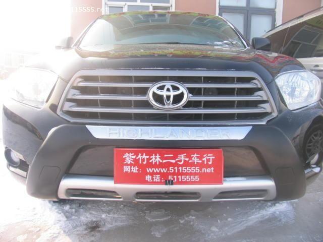 黑龙江二手汉兰达报价多少钱,2010年 黑龙江 汉兰达二手车价格– -二图片