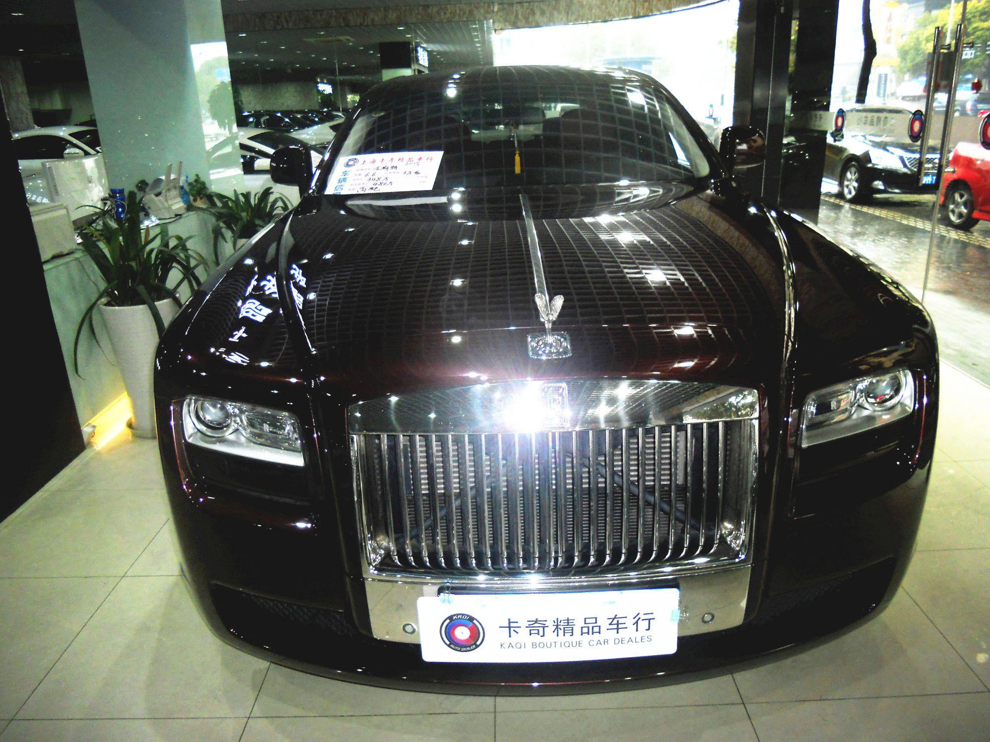 车源图片 2011年1月 劳斯莱斯 古思特 6.6t 高清图片