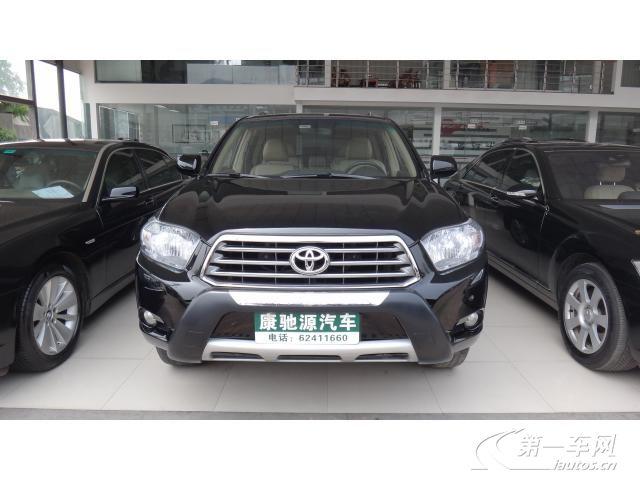 重庆二手汉兰达报价多少钱,2012年 重庆 汉兰达二手车价格– -二手车图片