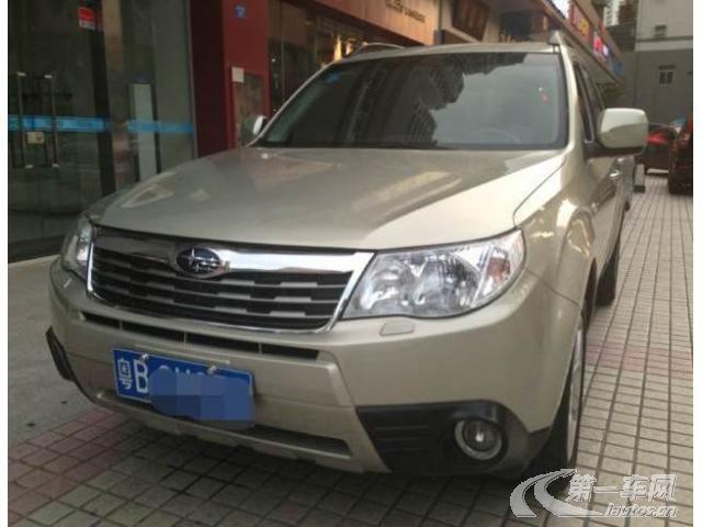 广东二手斯巴鲁SUV价格