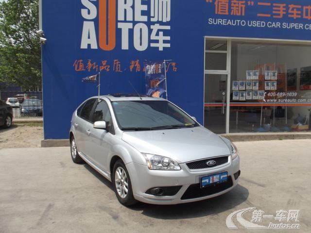 北京7至10万5至8年二手福特福克斯两厢 进口 价格 北京福特二手车交高清图片