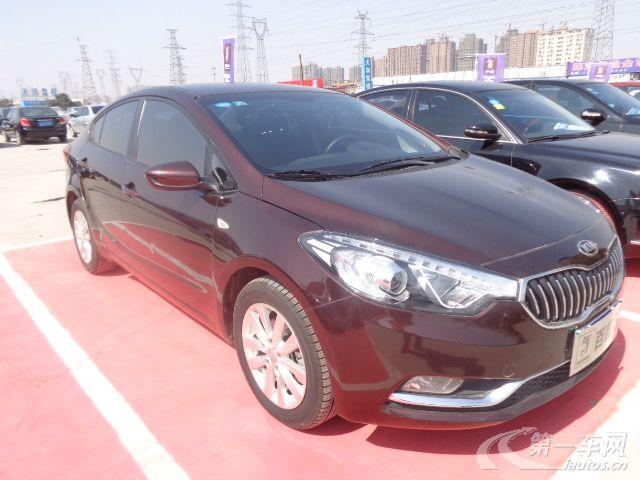 郑州二手起亚K3 2013年起亚K3 紧凑型轿车1.6L, 6档 手自一体高清图片