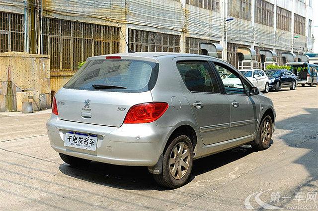 标致307两厢 2010款 1.6l 自动 两厢车 舒适版 (国Ⅲ带obd)