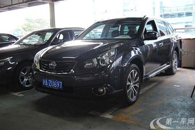 上海 斯巴鲁傲虎 [进口] 2012款 2.5l 自动 四驱 豪华版