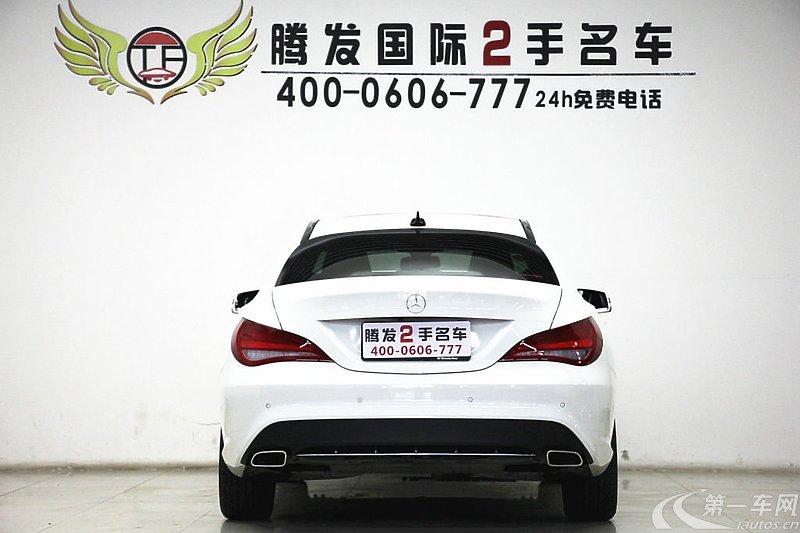 【郑州二手CLA级】29.20万_白色15款 CLA 2