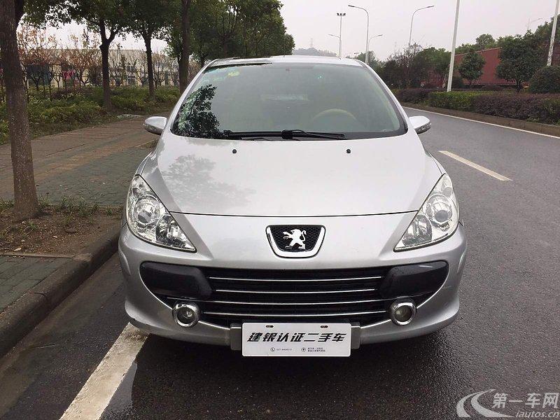 标致307 2010款 1.6l 自动 轿车 舒适版 (国Ⅲ)