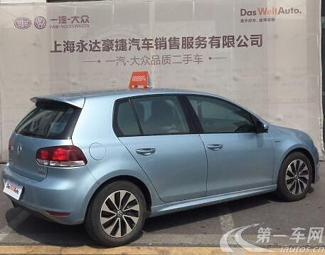 上海 大众高尔夫 2011款 1.4t 自动 豪华型 (国Ⅳ) 2018-01-23更新