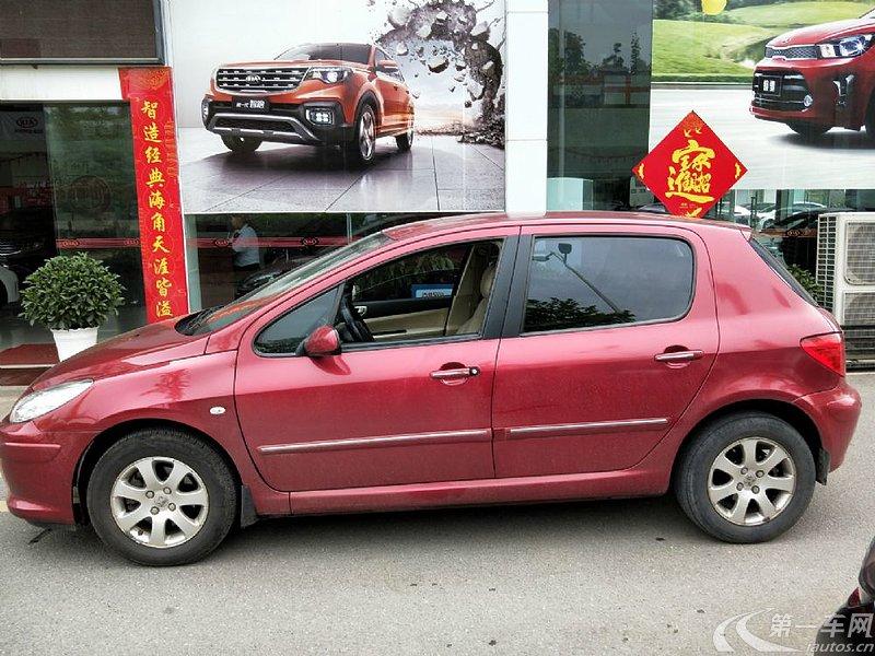 标致307两厢 2010款 1.6l 自动 两厢车 舒适版 (国Ⅳ)