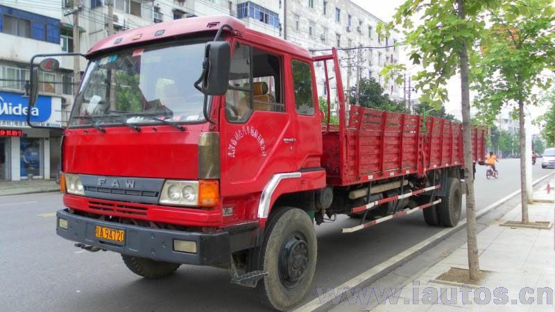 汉特东风单轿8.4平板货车报价 第一车网二手货车