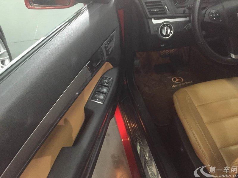 奔驰E级 E260 2010款 1.8T 自动 优雅型 (国Ⅳ)
