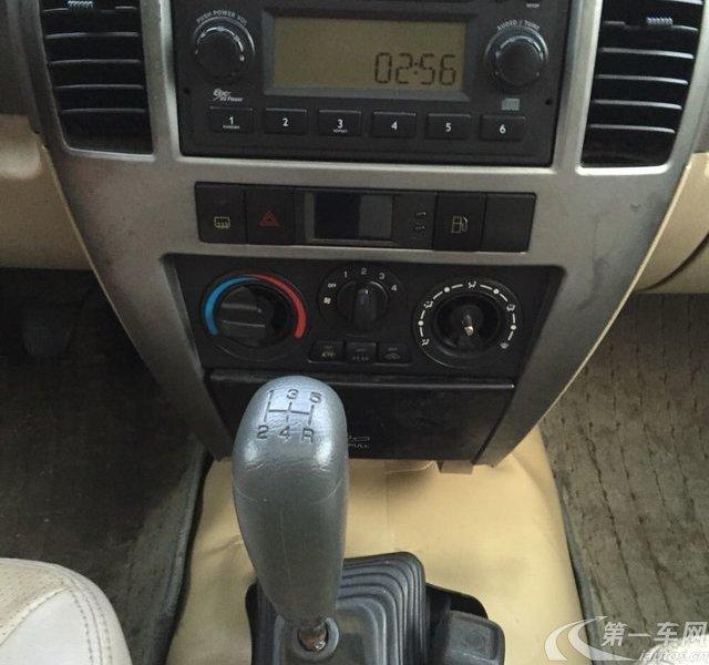 中兴无限V3 2008款 2.4L 手动 四驱 豪华型 (国Ⅲ带OBD)