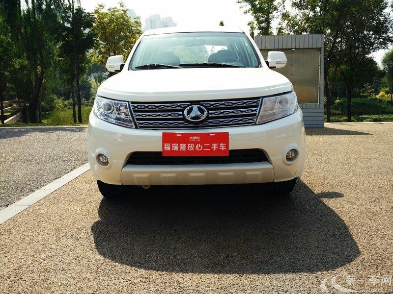 北汽制造锐铃 2013款 2.4L 手动 汽油 舒适型 (国Ⅳ)