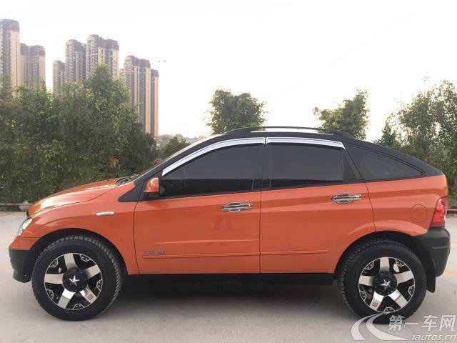 双龙爱腾 [进口] 2011款 2.0T 自动 四驱 豪华版 (欧Ⅳ)