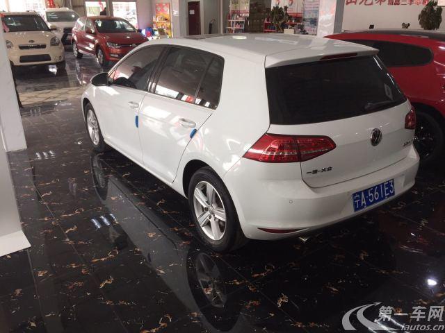 大众高尔夫 2014款 1.4T 自动 汽油 舒适型 (国Ⅳ)