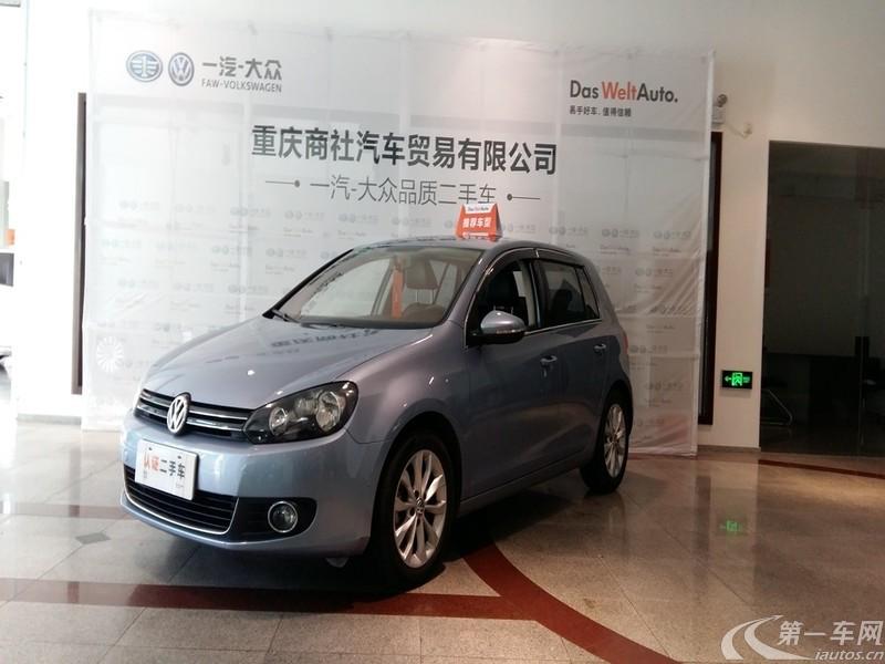 大众高尔夫 2009款 1.6L 手动 汽油 舒适型 (国Ⅳ)