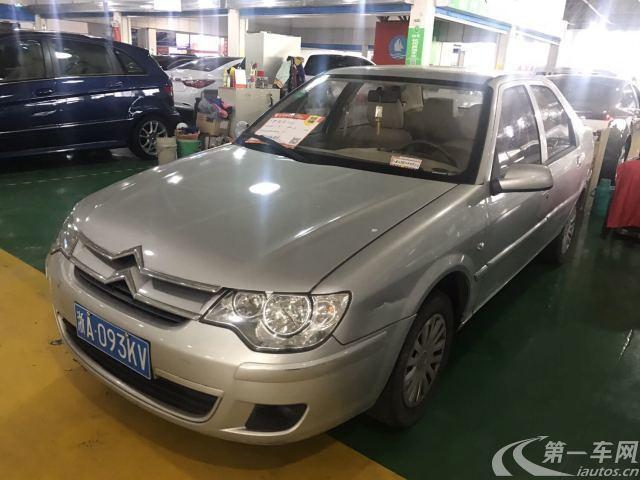 雪铁龙爱丽舍 2011款 1.6L 手动 4门5座三厢车 尊贵型 (国Ⅳ)