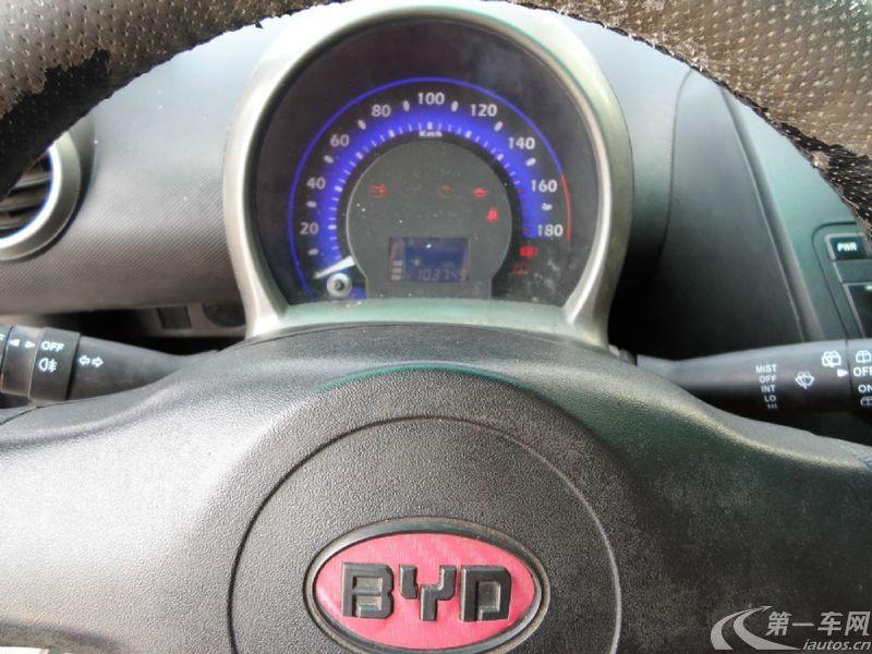 比亚迪F0 爱国版 2009款 1.0L 手动 实用型 (国Ⅲ带OBD)