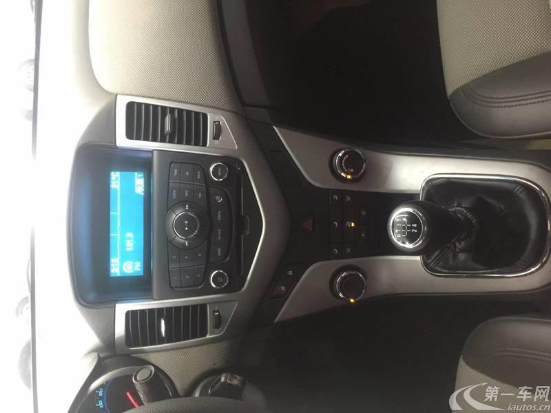 雪佛兰科鲁兹 2012款 1.6L 手动 SL天地版 (国Ⅳ)