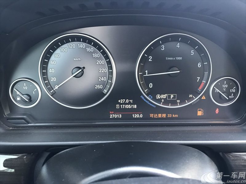 宝马5系 525Li 2014款 2.0T 自动 汽油 领先型 (国Ⅴ)