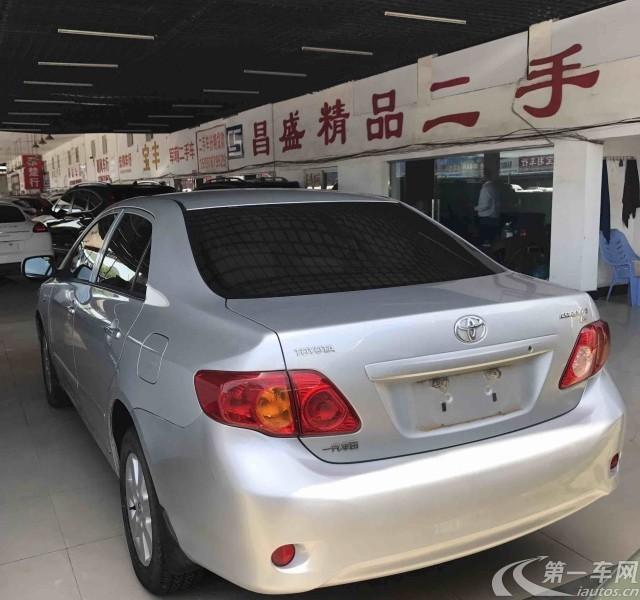 丰田卡罗拉 2007款 1.6L 手动 GL (国Ⅲ)