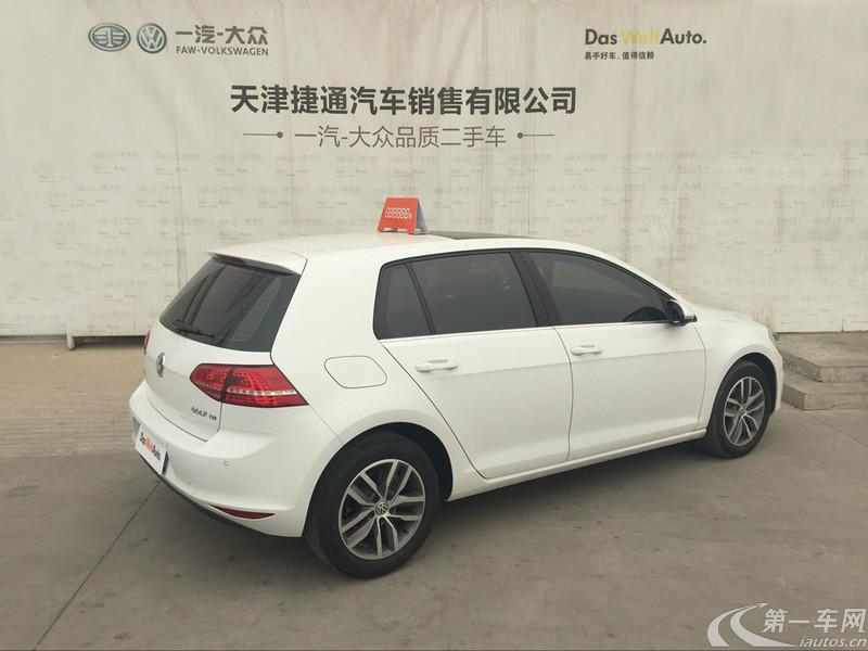 大众高尔夫 2016款 1.4T 自动 汽油 豪华型 (国Ⅴ)