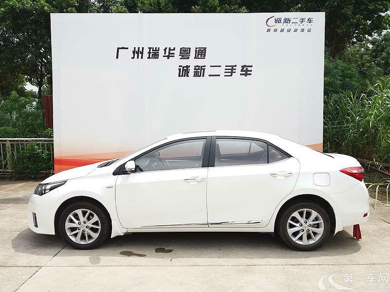丰田卡罗拉 2014款 1.6L 自动 GLX-i (国Ⅳ)
