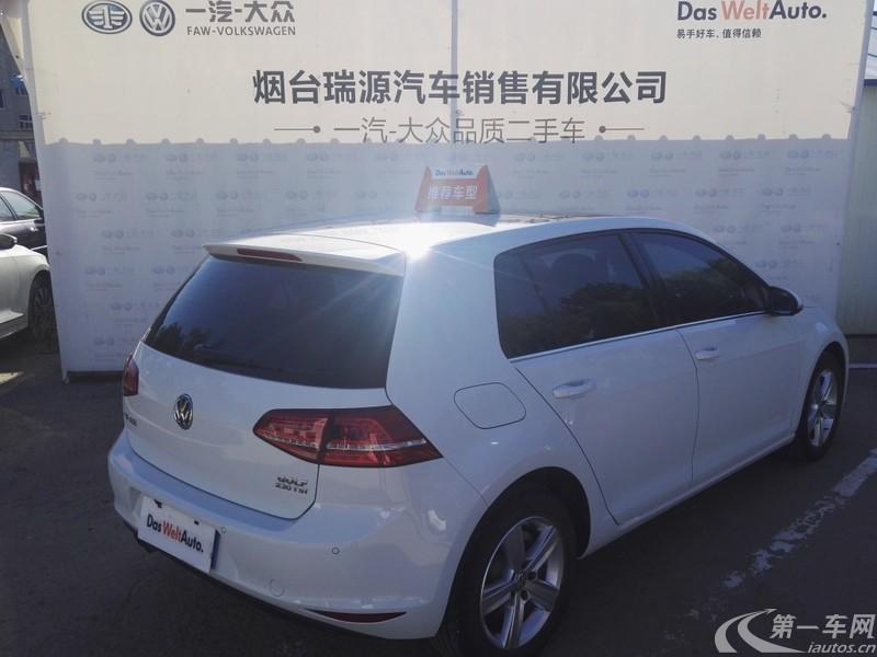 大众高尔夫 2016款 1.4T 自动 汽油 舒适型 (国Ⅴ)
