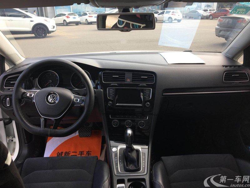 大众高尔夫 2015款 1.4T 自动 汽油 舒适型 (国Ⅴ)