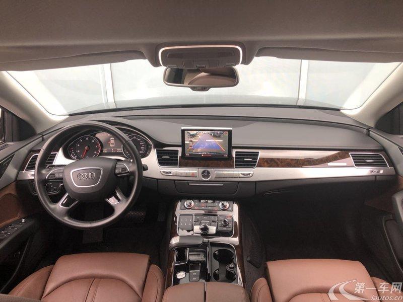 奥迪A8L 45 [进口] 2016款 3.0T 自动 汽油 舒适型