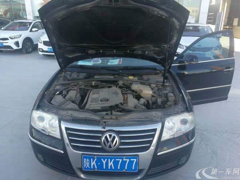 大众帕萨特 2007款 1.8T 手动 汽油 经典型 (国Ⅳ)