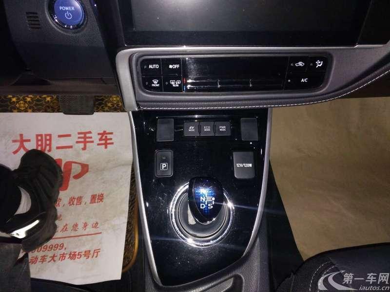 丰田卡罗拉 2017款 1.8L 自动 先锋版 (国Ⅴ)