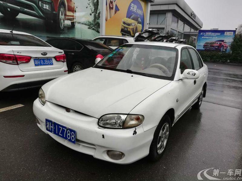 起亚千里马 2004款 1.3L 手动 DLX (国Ⅱ)
