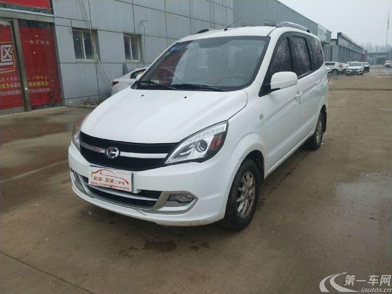 昌河福瑞达M50 2014款 1.5L 手动 公务舱 (国Ⅳ)