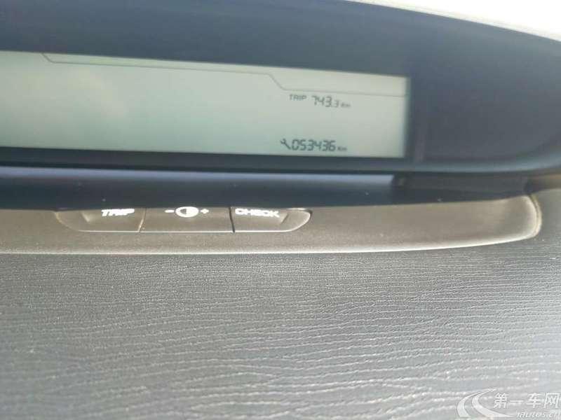 雪铁龙世嘉 2012款 1.6L 手动 品尚型 (国Ⅳ)