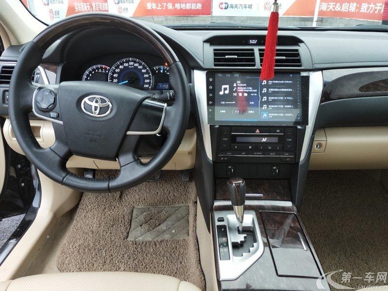 丰田凯美瑞 2015款 2.0L 自动 豪华版 (国Ⅳ)