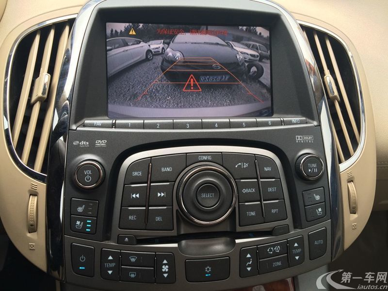 别克君越 2011款 2.4L 自动 舒适版 (国Ⅳ)