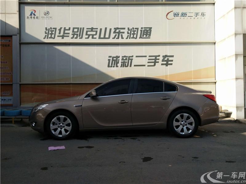 别克君威 2012款 2.4L 自动 旗舰版 (国Ⅳ)
